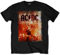 AC/DC - Live Canons Men's T-Shirt - Black (Medium) - Cover
