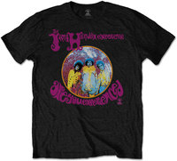 Jimi Hendrix - Are You Experienced Men's T-Shirt - Black (Large) - Cover