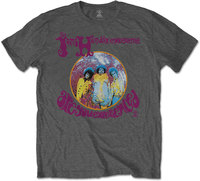 Jimi Hendrix - Are You Experienced Men's T-Shirt - Grey (Medium) - Cover
