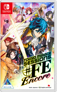 Tokyo Mirage Sessions ♯FE Encore (Nintendo Switch) - Cover