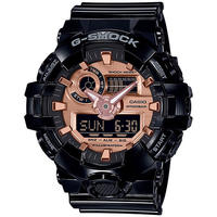 Casio G-Shock Analog and Digital Wrist Watch - Gloss Black