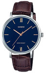 Casio Ladies Standard Collection Analog Wrist Watch - Brown and Blue