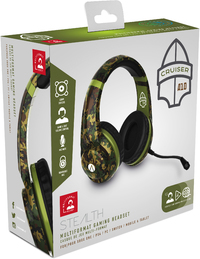 Stealth - Multiformat Camo Stereo Gaming Headset - Cruiser - Woodland Camouflage (PC/Gaming)