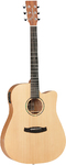 Tanglewood TWR2 DCE Roadster II Series Dreadnought Acoustic Electric Guitar (Natural)