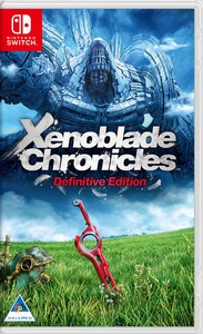 Xenoblade Chronicles: Definitive Edition (Nintendo Switch) - Cover