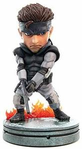 First4Figures - Metal Gear Solid (SD Solid Snake) 20cm PVC Figurine