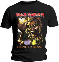Iron Maiden - Legacy Killers Men's T-Shirt - Black (Medium) - Cover