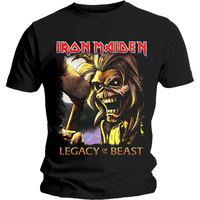 Iron Maiden - Legacy Killers Men's T-Shirt - Black (X-Large) - Cover
