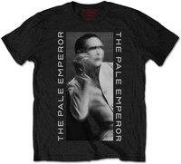 Marilyn Manson - The Pale Emperor FP Men's T-Shirt - Black (Large) - Cover