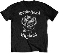 Motorhead - England FP Men's T-Shirt - Black (XX-Large) - Cover
