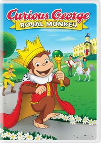 Curious George: Royal Monkey (DVD) - Cover