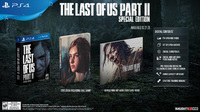 The Last of Us: Part II - Special Edition (PS4) - Cover