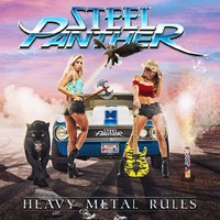 Steel Panther - Heavy Metal Rules (CD) - Cover