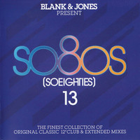 Blank & Jones - So80s (So Eighties) 13 (CD) - Cover