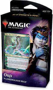 Magic: The Gathering - Throne of Eldraine Planeswalker Deck - Oko (Trading Card Game) - Cover