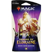Magic: The Gathering - Throne of Eldraine Theme Booster - White (Trading Card Game)