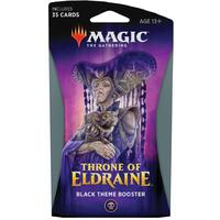 Magic: The Gathering - Throne of Eldraine Theme Booster - Black (Trading Card Game)