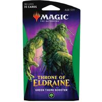 Magic: The Gathering - Throne of Eldraine Theme Booster - Green (Trading Card Game)