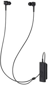 Audio Technica ATH-ANC100BT Wireless In-Ear Noise-Cancelling Headphones (Black)