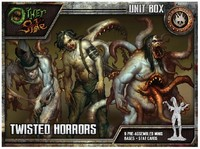 The Other Side - Church of the Burning Man: Twisted Horrors (Miniatures) - Cover