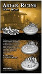 Malifaux: 3rd Edition - Asian Ruins: 40mm Bases (2) (Miniatures)