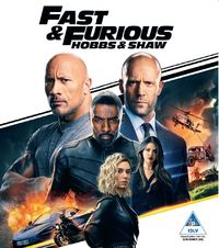 Fast and Furious Presents: Hobbs and Shaw (Blu-ray) - Cover