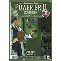Power Grid - Middle East/South Africa Expansion (Board Game)