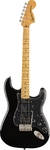 Squire Classic Vibe '70s Stratocaster HSS Electric Guitar (Black)