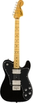 Squier Classic Vibe '70s Telecaster Deluxe Electric Guitar (Black)