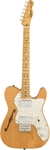 Squier Classic Vibe '70s Telecaster Thinline Electric Guitar (Natural)