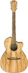 Fender FA-345CE FA Series Auditorium Acoustic Electric Guitar - Natural (2019 Limited Edition)