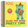 Alan the Bear Party Time - Sue Hendra (Hardcover)