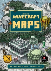 Minecraft Maps - Mojang Ab (Hardcover) - Cover