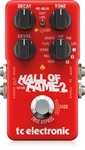 TC Electronic Hall of Fame 2 Reverb Electric Guitar Effects Pedal