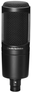 Audio Technica AT2020 Large Diaphragm Cardioid Condenser Microphone (Black) - Cover