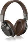 Behringer BH 470 Over-Ear Compact Studio Headphones (Black and Brown)