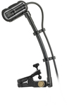 Audio Technica ATM350UCW Cardioid Condenser Clip-On Instrument Microphone with Universal Mounting System (Black)
