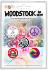 Woodstock - Surround Yourself With Love Button Badges