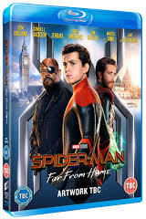 Spider-Man: Far From Home (Blu-ray) - Cover