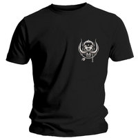 Motorhead Pocket Logo Men's Black T-Shirt (Large) - Cover