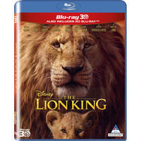 Lion King (Live Action) (3D Blu-ray)