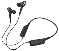 Audio Technica ATH-ANC40BT In-Ear Neckband Wireless Noise-Cancelling Headphones (Black)