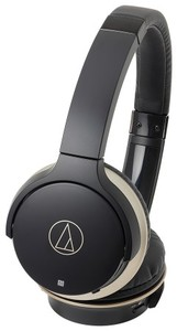 Audio Technica ATH-AR3BT On-Ear Wireless Headphones (Black)