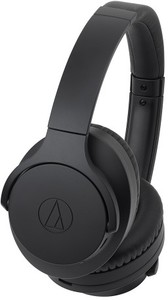 Audio Technica ATH-ANC700BT Over-Ear Wireless Noise-Cancelling Headphones with Microphone (Black)