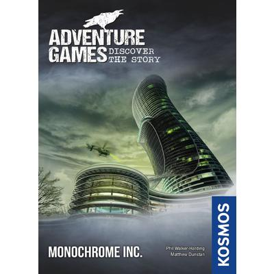 Adventure Games: Monochrome Inc. (Card Game)