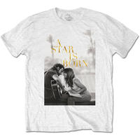 A Star Is Born Jack & Ally Movie Poster Men's White T-Shirt (X-Large)