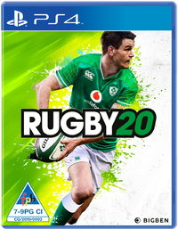 Rugby 20 (PS4) - Cover