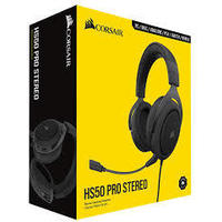 Corsair HS50 Pro Stereo Headset - Black (PC, PS4, Xbox One, Switch)