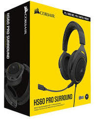 Corsair HS60 Pro 7.1 Surround Headset - Black & Yellow (PC, PS4, Xbox One, Switch)