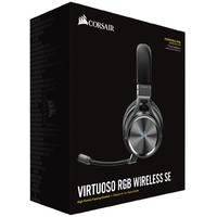 Corsair Virtuoso RGB Wireless Dolby 7.1 SE Gaming Headset - Gunmetal Grey (PC, PS4, Xbox One, Switch)